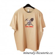 T-shirt - COAL MINER - Brown - - Order - -
