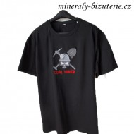 T-shirt - COAL MINER - Black - - Order - -